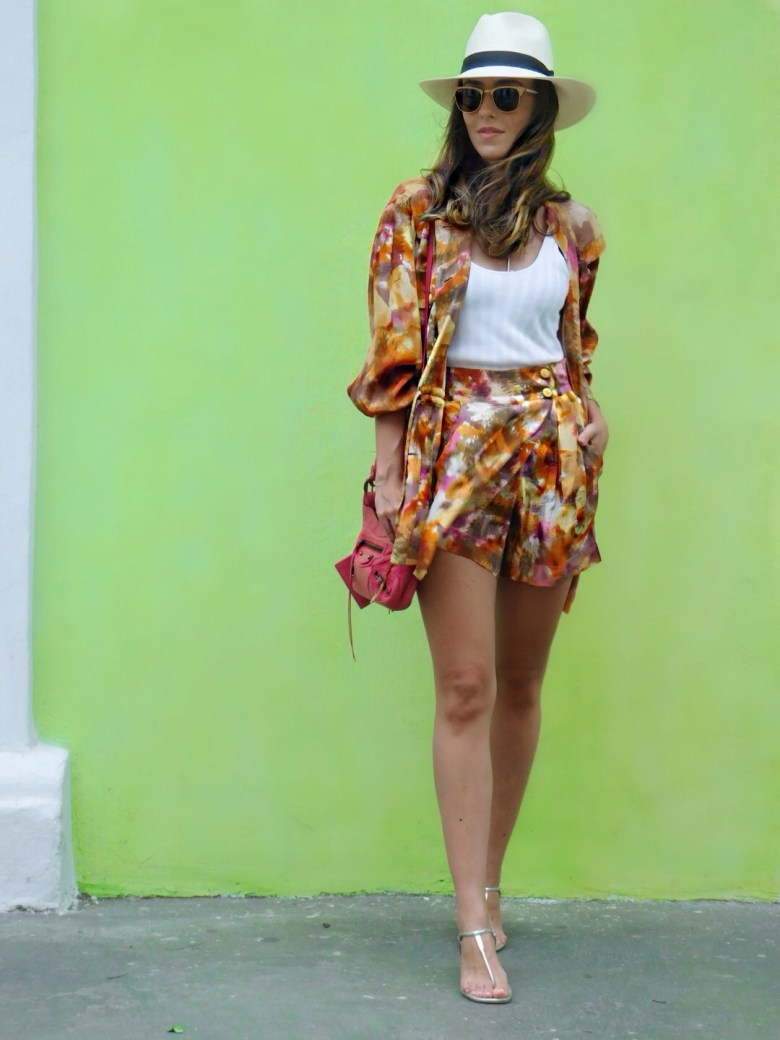 conjuntinho estampado, look do dia, moda, estilo, Gabi May, Cartagena, printed set, fashion, ootd