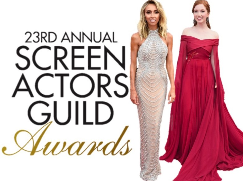 SAG Awards 2017, Screen Actors Guild Awards, moda, celebridades, hollywood, bem vestidas, tapete vermelho, gowns, fashion, best dressed, red carpet