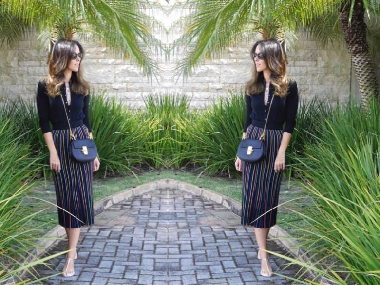 saias midi, Gabi May, look do dia, moda, estilo, tendência, fashion, style, trend, ootd