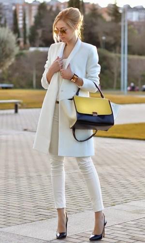 branco no inverno, look, moda, estilo, inspiração, tendência, white outfit, winter, fashion, style, inspiration, trend