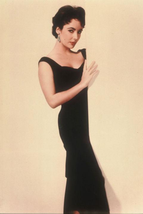 vestidos pretos icônicos, moda, estilo, inspiração, iconic black dresses, fashion, style, inspiration, elizabeth taylor