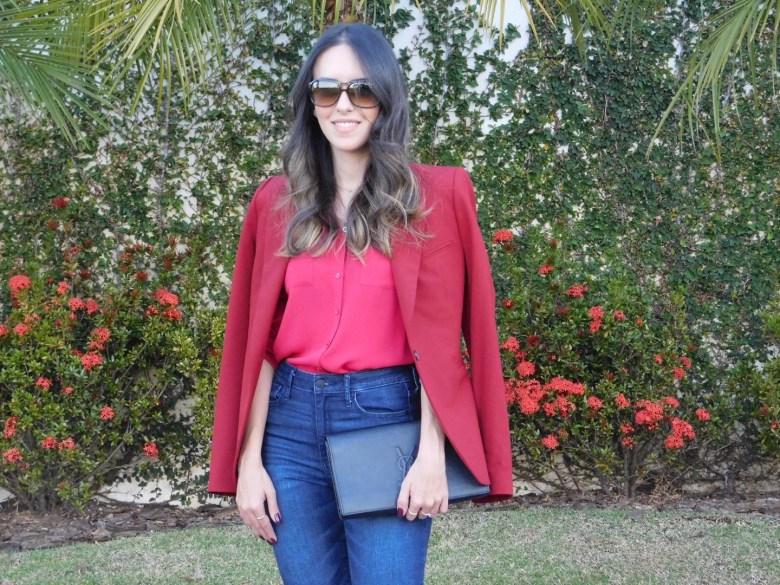 look vermelho e rosa, look do dia, moda, estilo, tendência, inspiração, Gabi May, red and pink, outfit, ootd, fashion, style, trend, inspiration