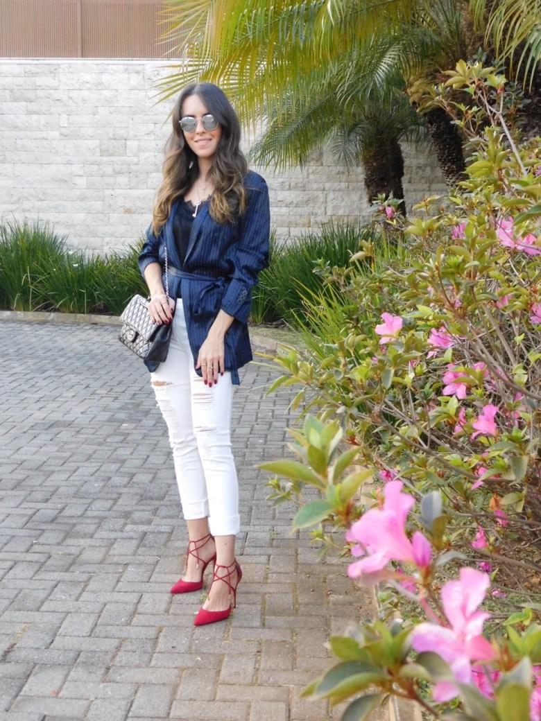 combinação azul e preto, look do dia, moda, estilo, inspiração, blue and black combination, fashion, style, inspiration, outfit of the day, ootd, Gabi May