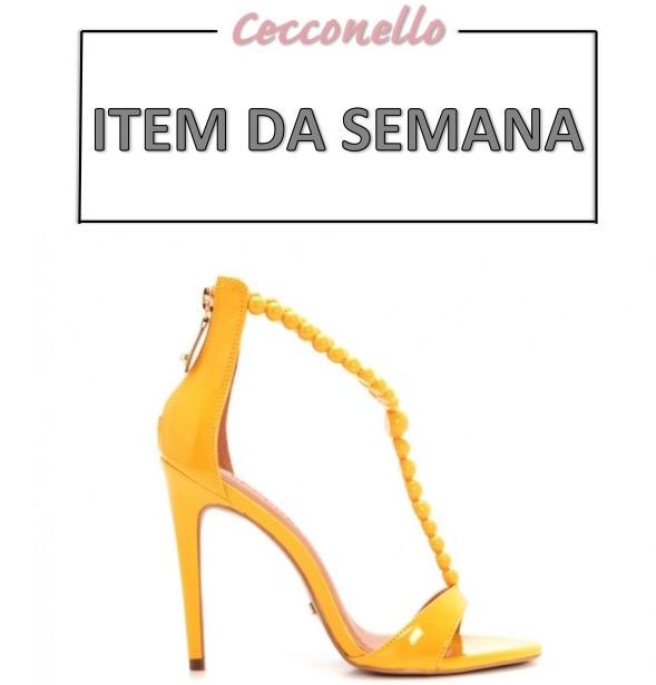 item da semana, sandália amarela, looks amarelos, moda, estilo, tendência, inspiração, item of the week, yellow heels, yellow outfits, fashion, style, inspiration, trend, outfits