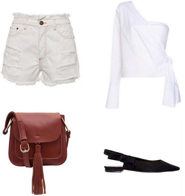 blusa branca um ombro só, moda, estilo, tendência, looks, item da semana, white off the shoulder top, fashion, style, outfits, trend, inspiration, item of the week