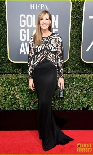 golden globe awards, golden globes 2018, moda, estilo, looks, inspiração, celebridades, tapete vermelho, fashion, style, outfits, gowns, inspiration, celebrities, red carpet, time's up, allison janney