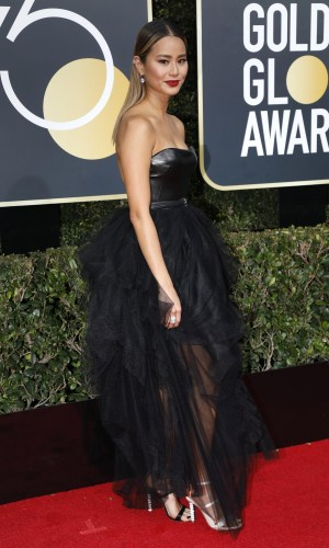 golden globe awards, golden globes 2018, moda, estilo, looks, inspiração, celebridades, tapete vermelho, fashion, style, outfits, gowns, inspiration, celebrities, red carpet, time's up, jaime chung