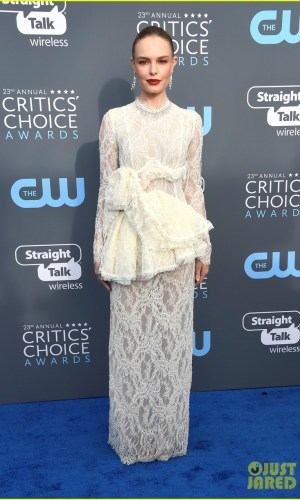 critics' choice awards 2018, moda, estilo, looks, vestidos longos, celebridades, fashion, style, inspiration, gowns, celebrities, kate bosworth