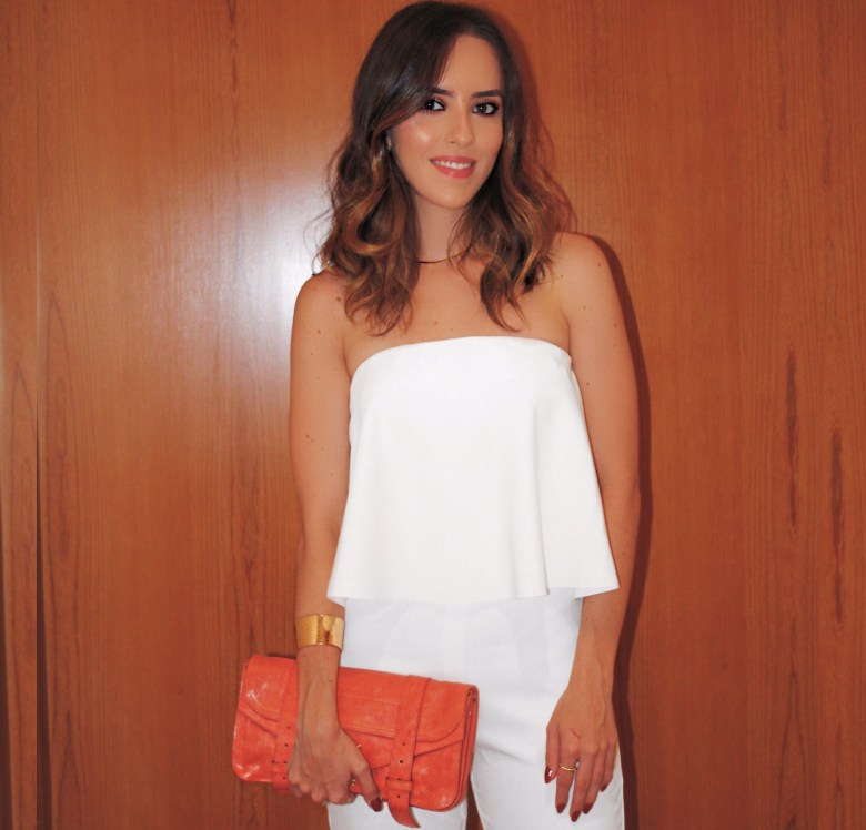 macacão com babado, moda, estilo, look do dia, gabi may, look branco, réveillon, jumpsuit with ruffles, fashion, style, outfit of the day, new year's eve