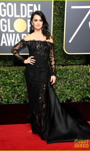 golden globe awards, golden globes 2018, moda, estilo, looks, inspiração, celebridades, tapete vermelho, fashion, style, outfits, gowns, inspiration, celebrities, red carpet, time's up, penelope cruz
