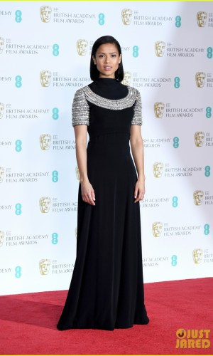 BAFTAs 2018, tapete vermelho, celebridades, looks, vestidos longos, moda, estilo, premiação, time's up, red carpet, celebrities, fashion, style, outfits, gowns, gugu mabatha raw