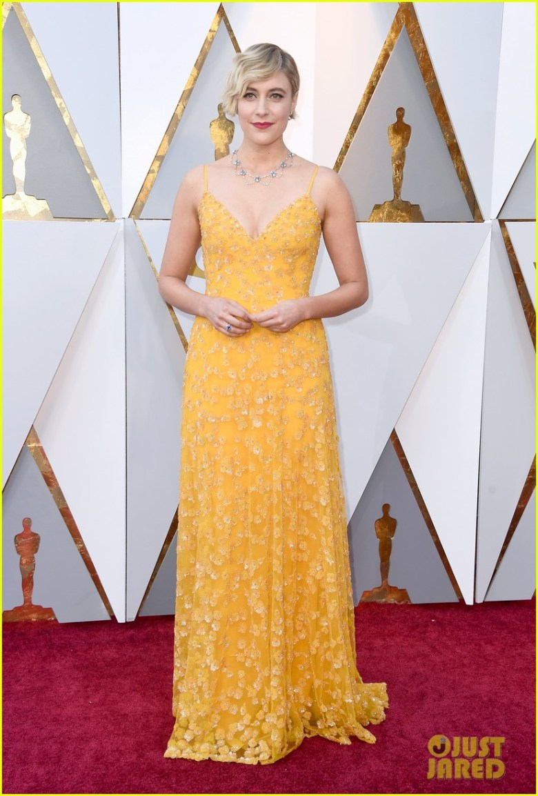 oscar 2018, tapete vermelho, celebridades, premiação, moda, estilo, looks, vestido longo, 2018 oscars, red carpet, celebrities, award season, fashion, style, gowns, outfits, greta gerwig