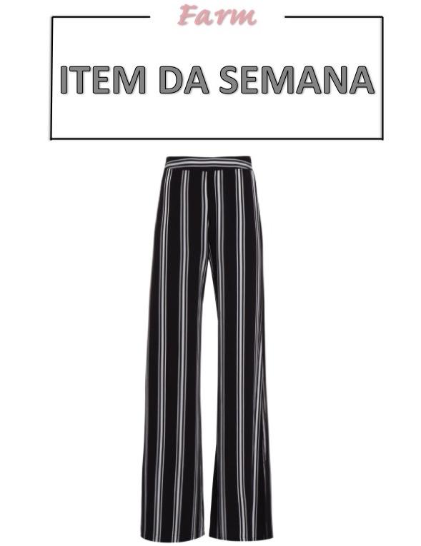 pantalona listrada, item da semana, moda, estilo, looks, inspiração, fashion, style, outfit, inspiration, wide leg pants, stripes