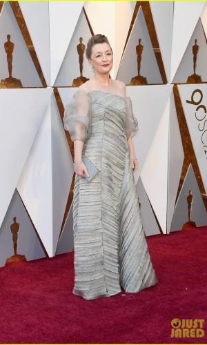 oscar 2018, tapete vermelho, celebridades, premiação, moda, estilo, looks, vestido longo, 2018 oscars, red carpet, celebrities, award season, fashion, style, gowns, outfits, lesley manville