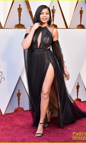 oscar 2018, tapete vermelho, celebridades, premiação, moda, estilo, looks, vestido longo, 2018 oscars, red carpet, celebrities, award season, fashion, style, gowns, outfits, taraji p henson
