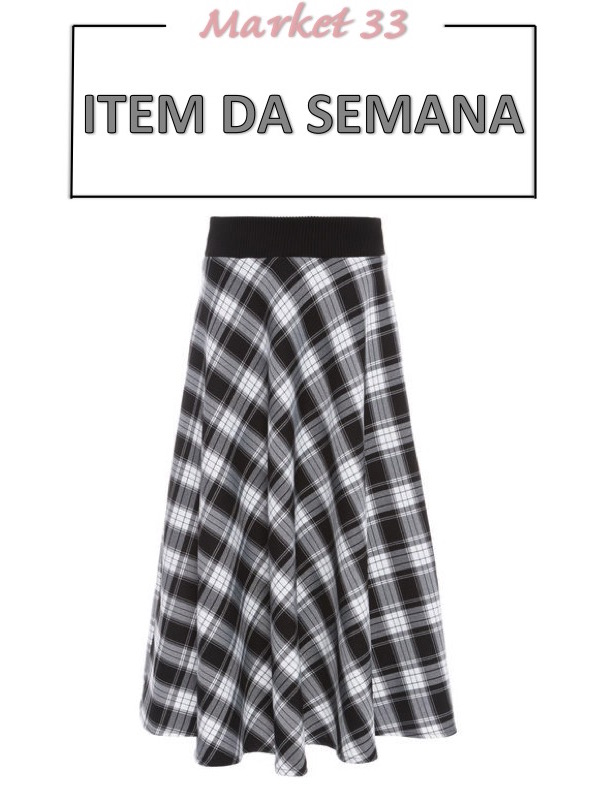 item da semana, saia midi xadrez, moda, estilo, inspiração, looks, tendência, item of the week, plaid midi skirt, fashion, style, inspiration, trend, outfits