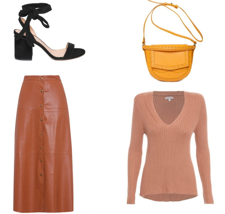 saia midi com botões, item da semana, moda, estilo, look. tendência, item of the week, midi skirt with frontal buttons, fashion, style, trend, outfits