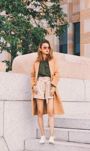 short clochard, moda, estilo, tendência, look, paper bag shorts, paper bag waist, fashion, style, trend, outfits