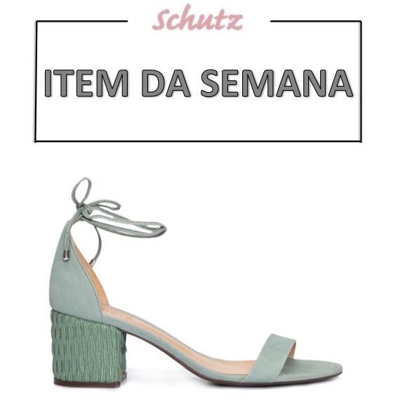 sandália verde clara, salto bloco, moda, estilo, look, item da semana, block heels, mint, fashion, style, outfit, item of the week