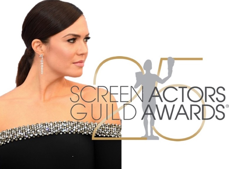 sag awards 2019, best dressed, mais bem vestidas, hollywood, moda, estilo, looks, fashion, style, outfits, mandy moore, jason wu