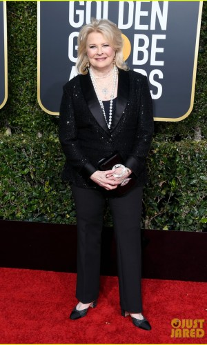 golden globes 2019, golden globes, awards season, red carpet, fashion, look, gown, tapete vermelho, premiação, moda, look, vestido longo, hollywood, candice bergen