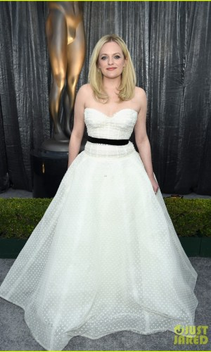sag awards 2019, best dressed, mais bem vestidas, hollywood, moda, estilo, looks, fashion, style, outfits, elisabeth moss