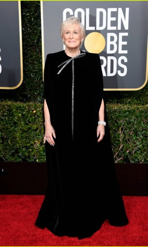 golden globes 2019, golden globes, awards season, red carpet, fashion, look, gown, tapete vermelho, premiação, moda, look, vestido longo, hollywood, glenn close