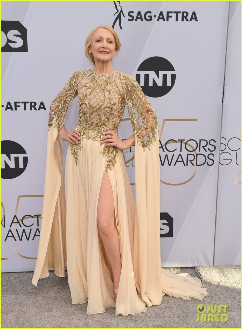sag awards 2019, best dressed, mais bem vestidas, hollywood, moda, estilo, looks, fashion, style, outfits, patricia clarkson, zuhair murad