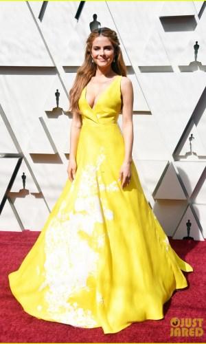 oscar 2019, tapete vermelho, celebridades, hollywood, moda, vestidos, looks, 2019 oscars, gowns, red carpet, celebrities, award season, maria menounos