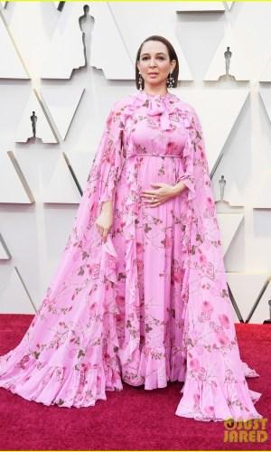oscar 2019, tapete vermelho, celebridades, hollywood, moda, vestidos, looks, 2019 oscars, gowns, red carpet, celebrities, award season, maya rudolph