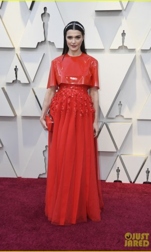oscar 2019, tapete vermelho, celebridades, hollywood, moda, vestidos, looks, 2019 oscars, gowns, red carpet, celebrities, award season, rachel weisz