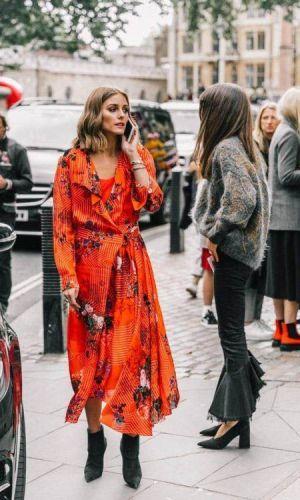 vestido e bota, combinação contrastante, look, tendência, look inverno, look outono, moda, estilo, fashion, style, trend, dress with boots, olivia palermo