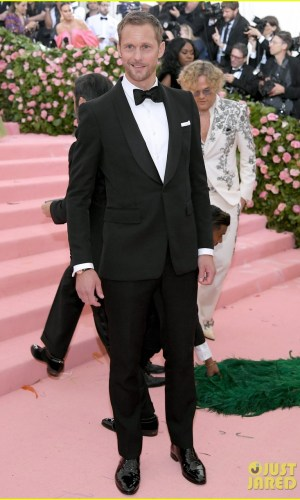 MET Gala 2019, Baile do Met, moda, estilo, celebridades, looks, Camp, fashion, style, red carpet, alexander skarsgard