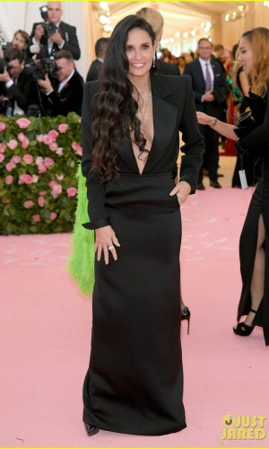 MET Gala 2019, Baile do Met, moda, estilo, celebridades, looks, Camp, fashion, style, red carpet, demi moore