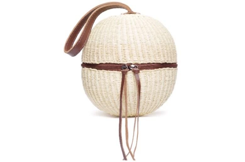 bolsa de palha nannacay, um item e cinco looks
