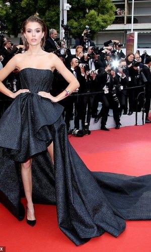 josephine skriver at the 2019 cannes film festival red carpet