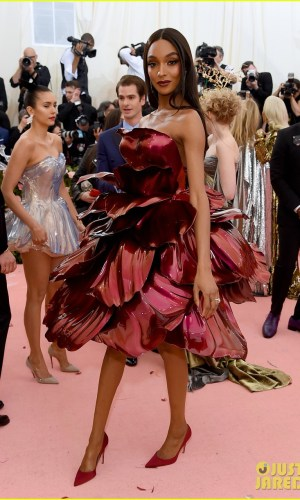 MET Gala 2019, Baile do Met, moda, estilo, celebridades, looks, Camp, fashion, style, red carpet, jourdan dunn