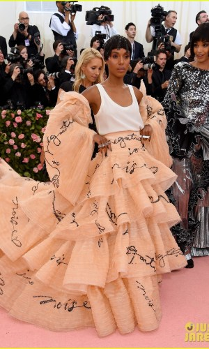 MET Gala 2019, Baile do Met, moda, estilo, celebridades, looks, Camp, fashion, style, red carpet, kerry washington