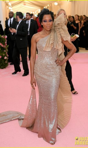 MET Gala 2019, Baile do Met, moda, estilo, celebridades, looks, Camp, fashion, style, red carpet, regina king