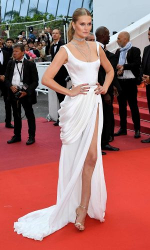 toni garrn at the 2019 cannes film festival red carpet