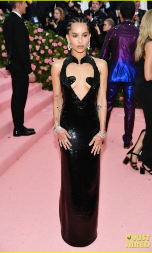 MET Gala 2019, Baile do Met, moda, estilo, celebridades, looks, Camp, fashion, style, red carpet, zoe kravitz