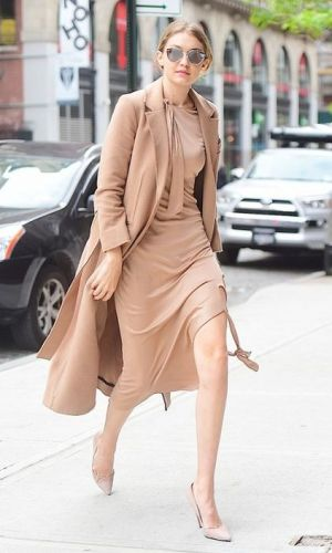 looks bege, moda, estilo, beige outfits, fashion, style, gigi hadid
