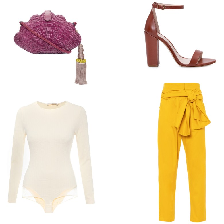 calça amarela, item da semana, moda, estilo, looks, item of the week, fashion, style, outfits