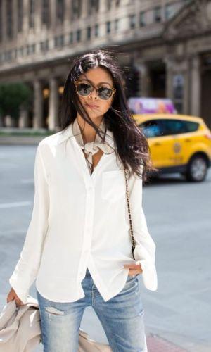 lenço no pescoço, moda, estilo, looks, inspiração, truque de estilo, styling trick, fashion, neck scarf, outfits