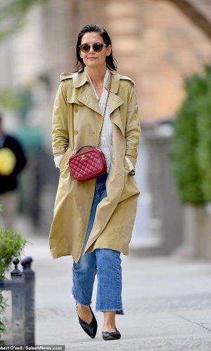 katie holmes, looks, moda, street style, estilo, style, outfits, fashion