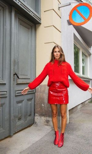 nina sandbech, moda, estilo, looks coloridos, fashion, style, outfit, color blocking
