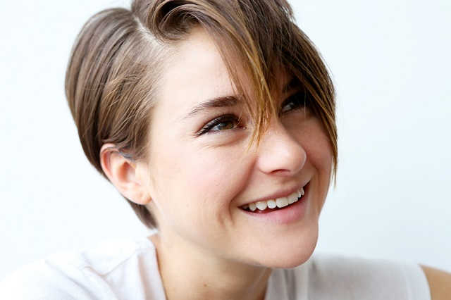 La bella actriz Shailene Woodley
