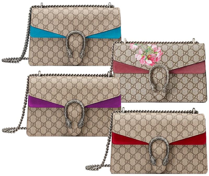 fake or authentic Gucci Dionysus bag