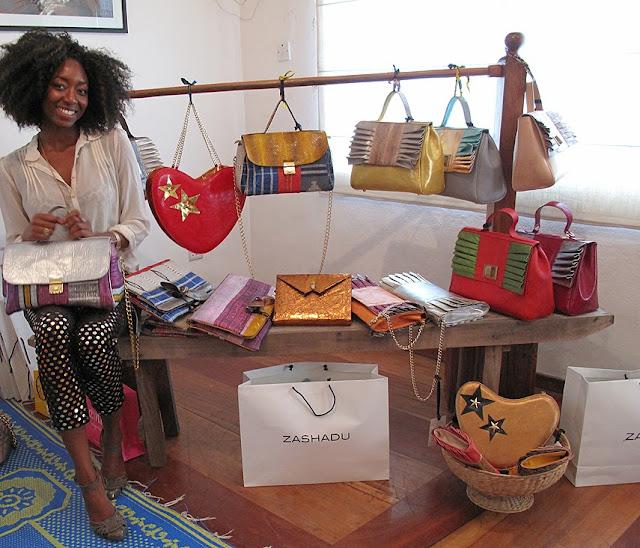 Nigerian handbag designer- zashadu