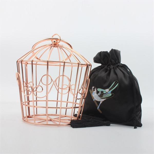 birdie clutch bag